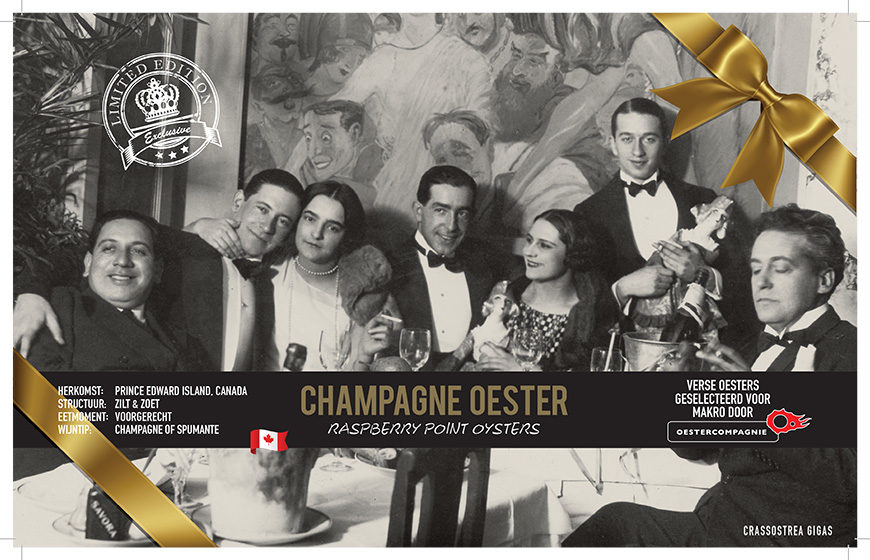 Champagne Oester
